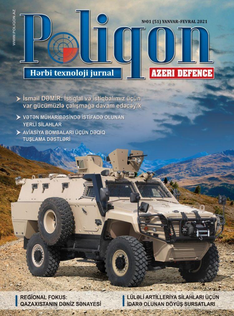 POLİQON (AZERİ DEFENCE) jurnalının 1 (51) 2021 sayı