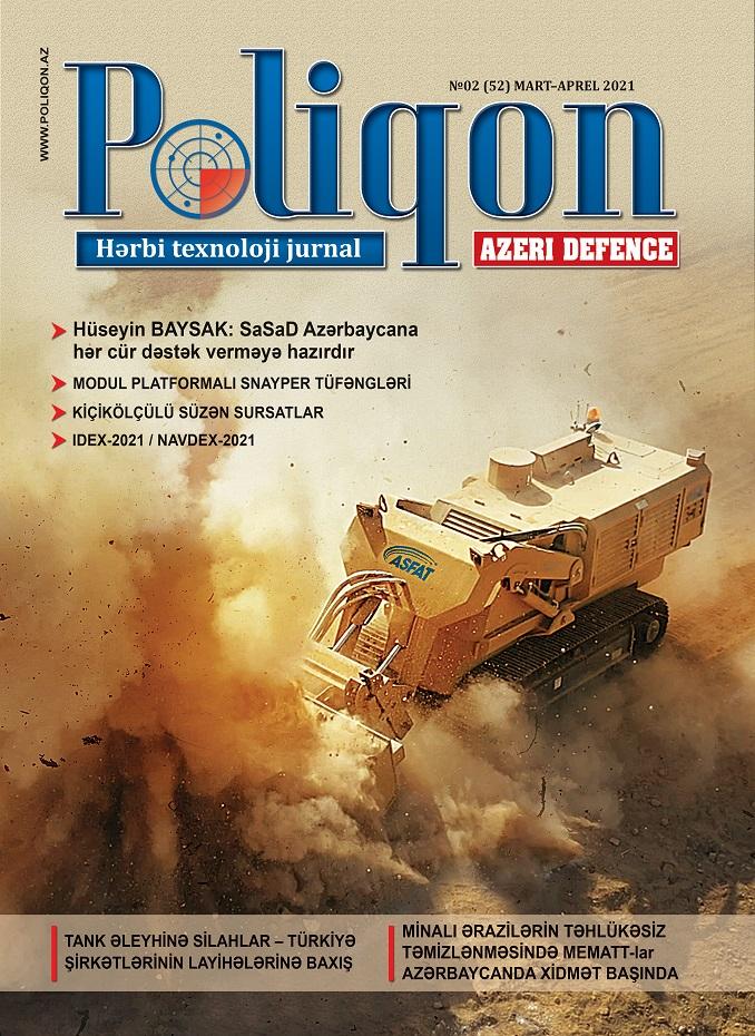 POLİQON (AZERİ DEFENCE) jurnalının 2 (52) 2021 sayı
