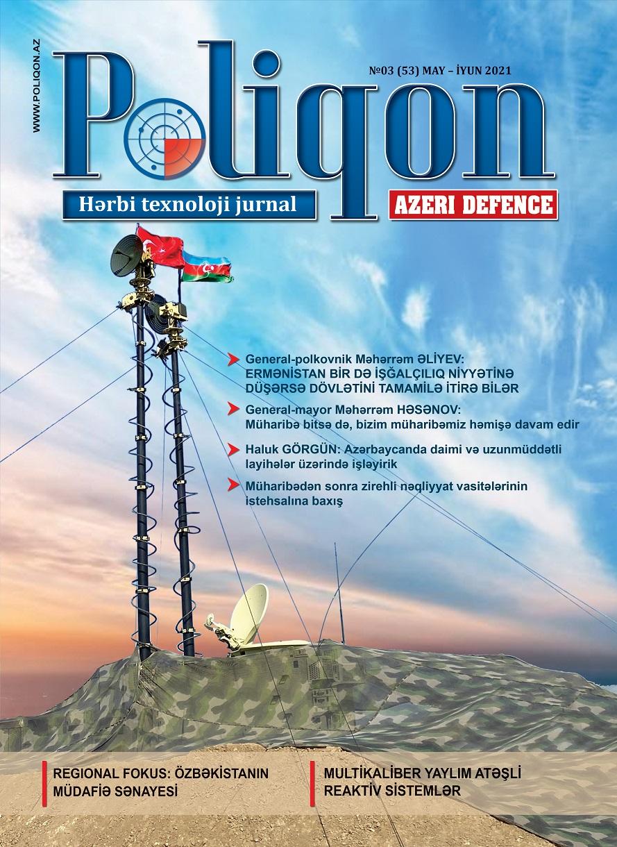 POLİQON (AZERİ DEFENCE) jurnalının 3 (53) 2021 sayı