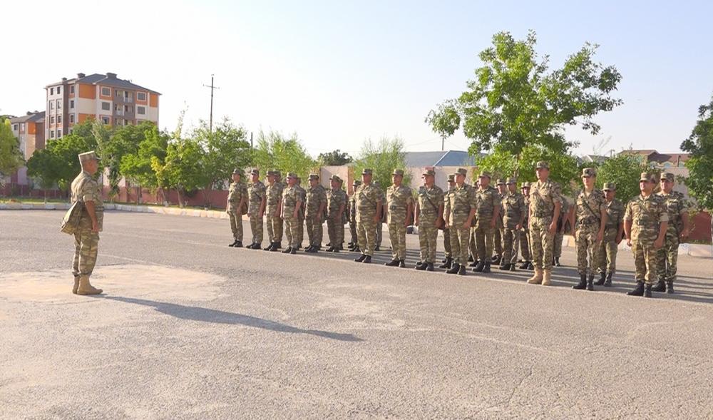 Naxçıvan Qarnizonu Qoşunlarında toplantılar keçirilib