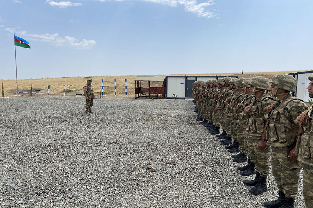 Müdafiə Nazirliyinin Xocavənddə iki yeni hərbi hissəsi istifadəyə verilib
