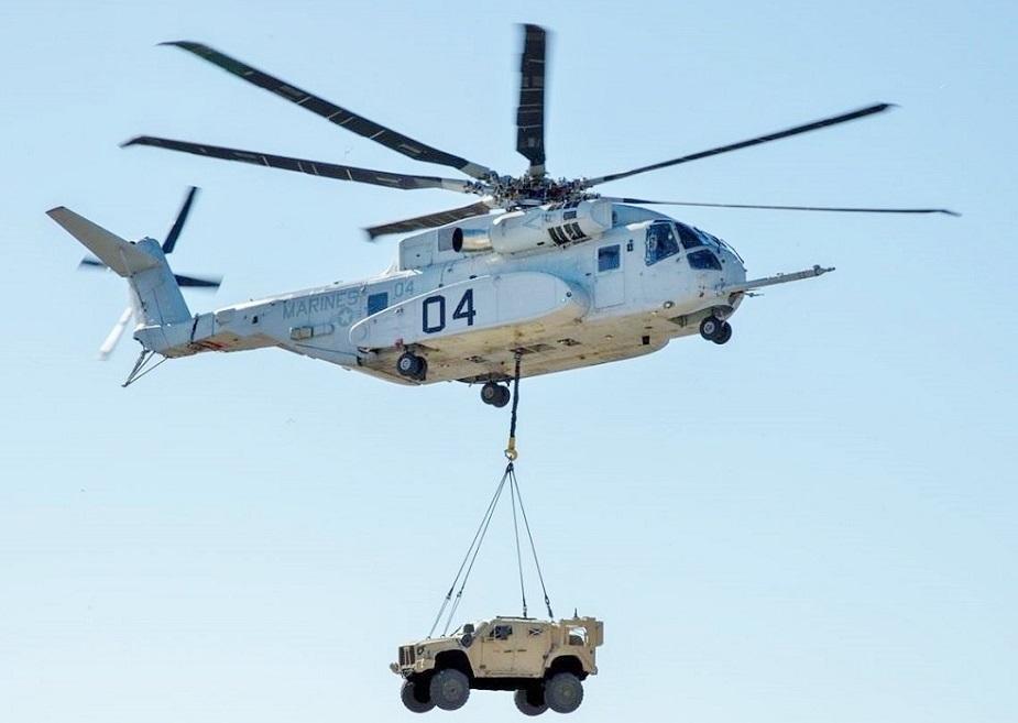 ABŞ İsrailə 18 ədəd CH-53K helikopteri satacaq