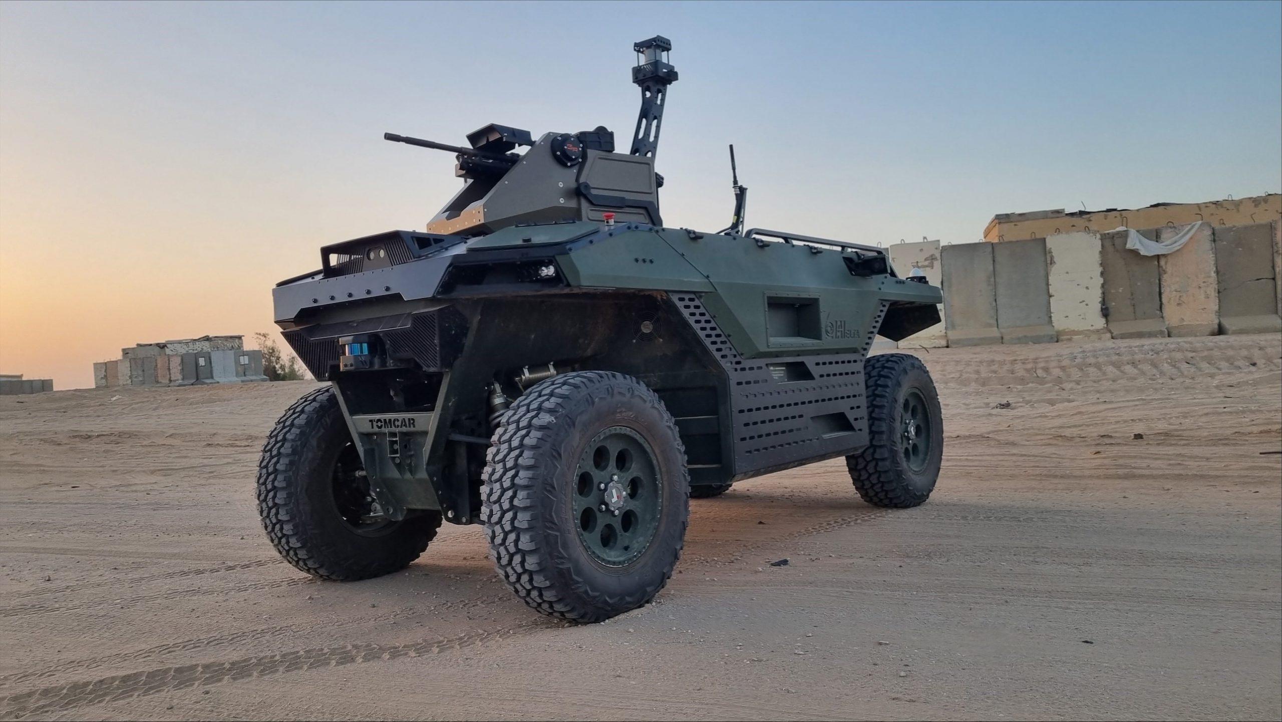 DSEI-2021: IAI şirkəti REX MK II robotunu nümayiş etdirir