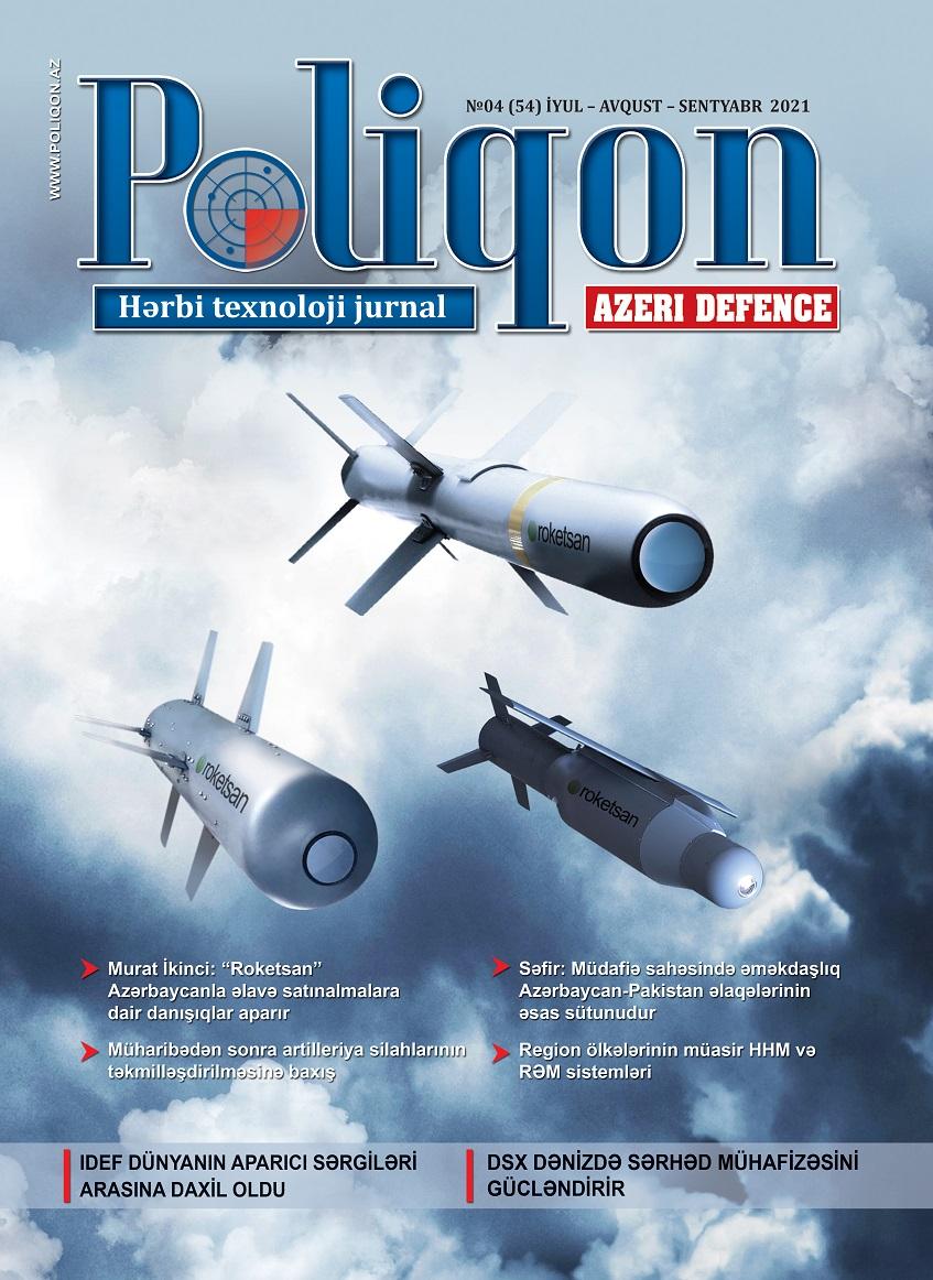 POLİQON (AZERİ DEFENCE) jurnalının 4 (54) 2021 sayı